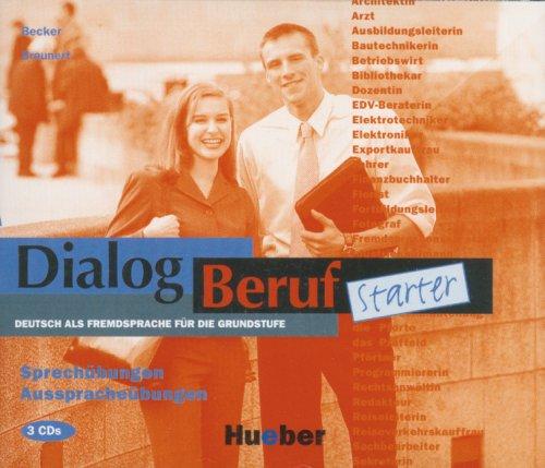 9783190616312: DIALOG BERUF.Start.CDx3 Spr.ueb.(Ej.or.): Cds (3) - Sprechubungen