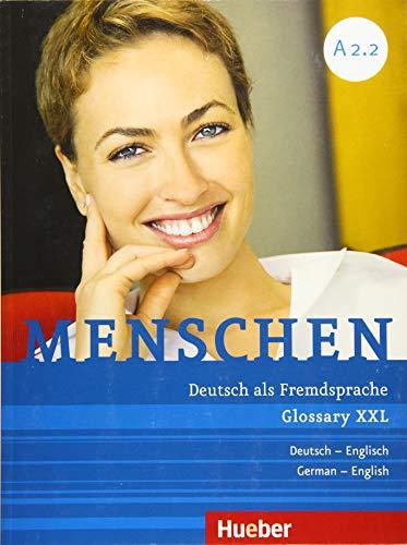 Menschen A2/2. Glossar XXL Deutsch-Englisch: Ozorowska, Magdalena, Schwingshackl,