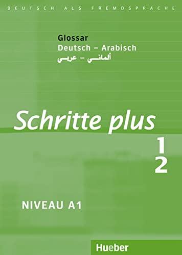 9783190619115: Schritte plus 1+2. Glossar Deutsch-Arabisch: Deutsch als Fremdsprache