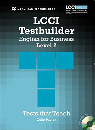 9783190627226: LCCI Testbuilder English for Business. Level 2: Student's Book