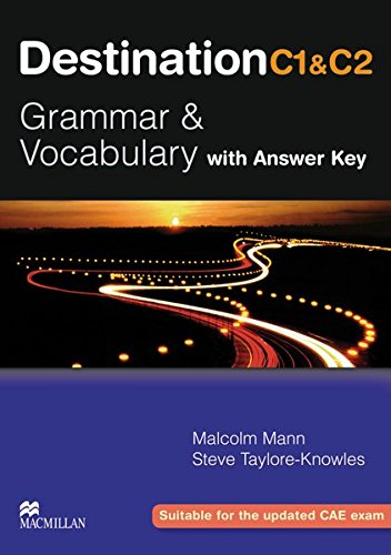 9783190629558: Destination C1 & C2 Grammar and Vocabulary. Student's Book with Key