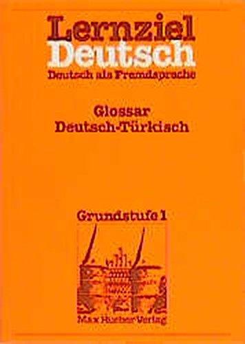 Lernziel Deutsch, Glossar Deutsch-Türkisch: Wolfgang Hieber
