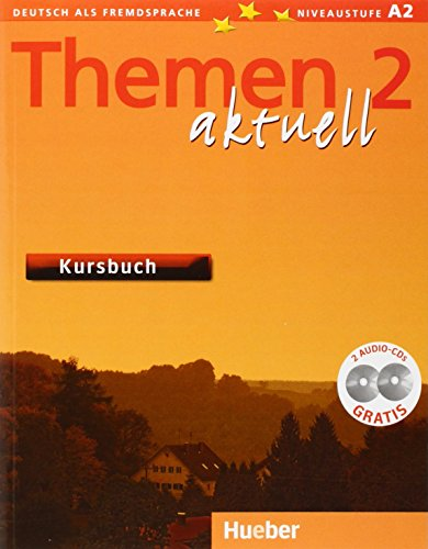 9783190716913: THEMEN AKTUELL.2.Kursbuch(l.al.)+2 CD