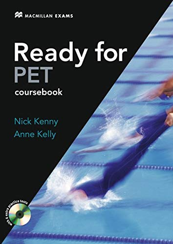 9783190728893: Ready for PET. A complete course for the Preliminary English Test. Student's Book + CD-ROM (without key)