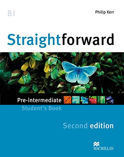 9783190729524: Straightforward Pre-Intermediate. Student's Book, Workbook, Audio-CDs and Webcode