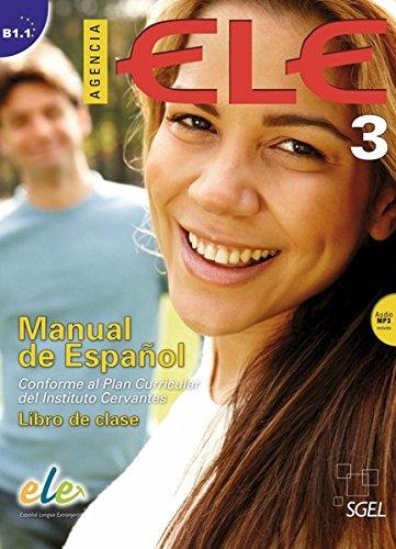 9783190745050: Agencia ELE 03. Kursbuch mit Audio-CD: Manual de Español. Conforme al Plan Curricular del Instituto Cervantes