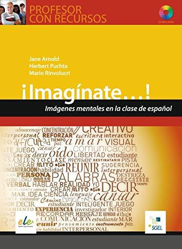 9783190745067: Profesor con Recursos ¡Imagínate...! Buch mit CD-ROM: Imágenes mentales en la clase de español