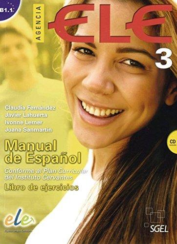 9783190845057: Agencia ELE 03. Arbeitsbuch mit Audio-CD: Manual de Español. Conforme al Plan Curricular del Instituto Cervantes