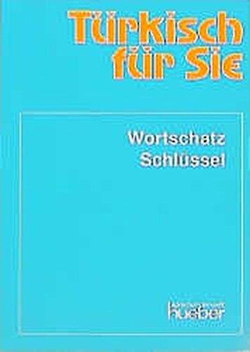 9783190850891: Türkisch für Sie. Wortschatz und Schlüssel.