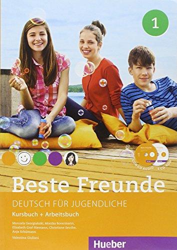 9783191010577: Beste freunde. Kursbuch und Arbeitsbuch. Per la Scuola media. Con CD-ROM. Con CD-Audio: 1