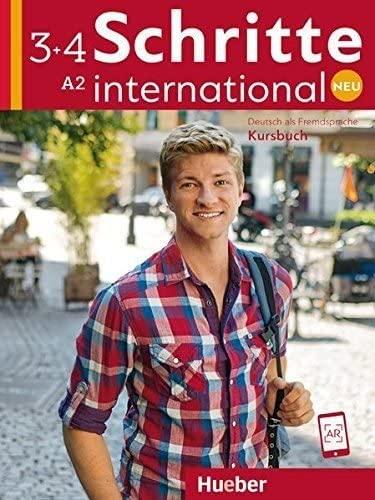 9783191010843: Schritte international. Neu. Deutsch als Fremdsprache. Kursbuch. Per le Scuole superiori: SCHRITTE INT.NEU 3+4 Kursb.(alum.)