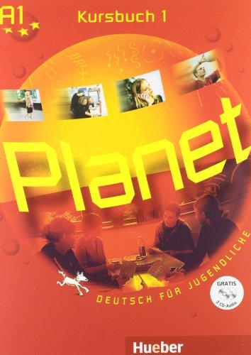 9783191016784: Planet 1 Kursbuch mit 2 Audio-CDs
