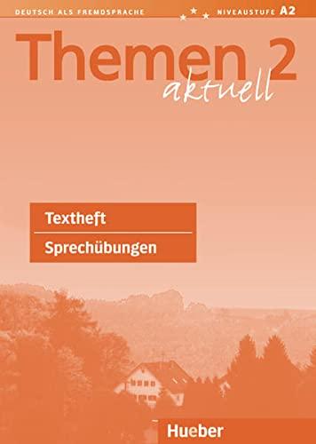 9783191016913: Themen Aktuell: Sprechubungen Textheft (German Edition)