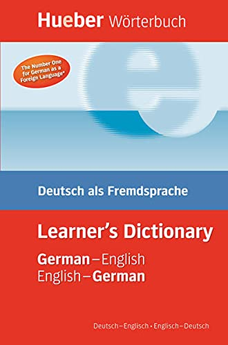 9783191017361: Hueber Worterbuch Learner's Dictionary: Deutsch als Fremdsprache / German-English / English-German Deutsch-Englisch / Englisch-Deutsch