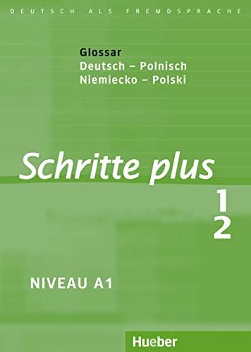 9783191019112: Schritte plus 1+2. Glossar Deutsch-Polnisch - Glosariusz Niemiecko-Polski: Deutsch als Fremdsprache