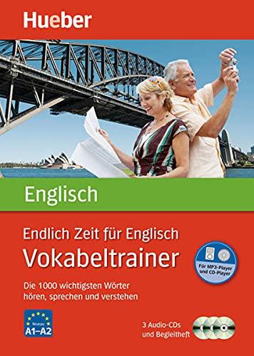 9783191095772: Endlich Zeit für Englisch. Vokabeltrainer: Die 1 000 wichtigsten Wörter hören, sprechen und verstehen
