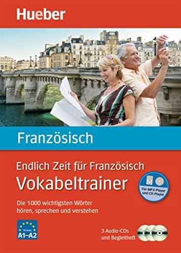 9783191095789: Endlich Zeit für Französisch. Vokabeltrainer: Die 1 000 wichtigsten Wörter hören, sprechen und verstehen