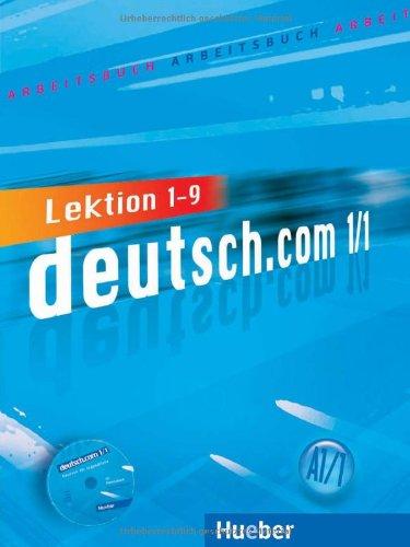9783191216580: DEUTSCH.COM.A1.1.Arbeitsbuch+CD(lecc.1-9)
