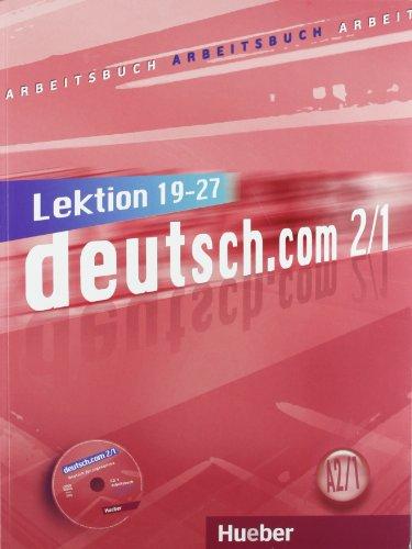 9783191216597: DEUTSCH.COM A2.1 Arbeitsb.(ejerc.)