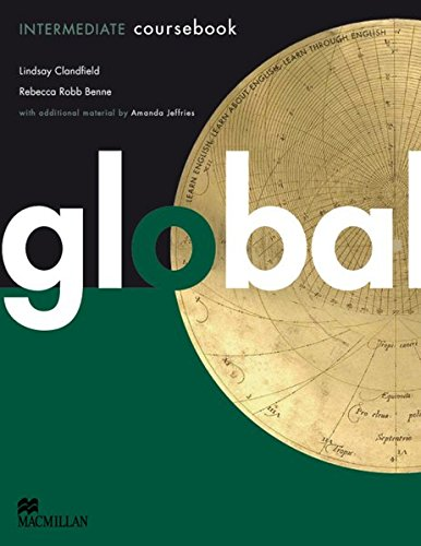 9783191229801: Global. Intermediate. Student's Book with e-Workbook (DVD-ROM)