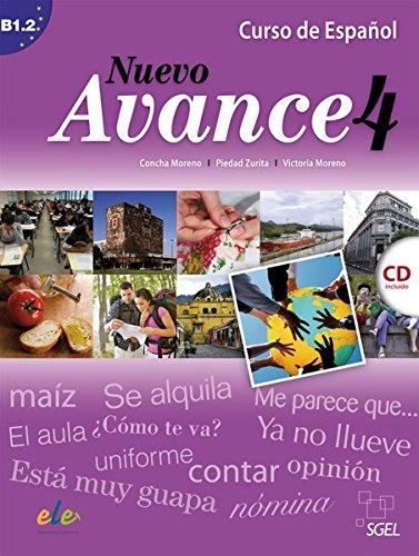 9783191245047: Nuevo Avance 04. Kursbuch mit Audio-CD: Curso de Español