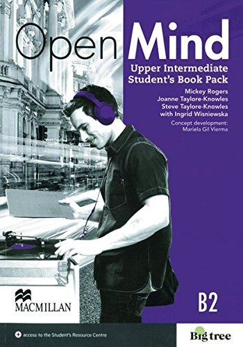 9783191329839: Open Mind Upper Intermediate. Student's Book with Webcode (incl. MP3) and Print-Workbook with Audio-CD+ Key