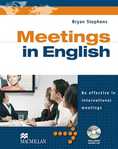 9783191428846: Business English: Meetings in English. Student's Book with Audio-CD