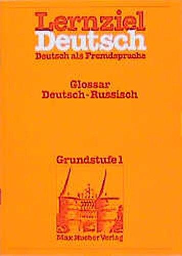 Lernziel Deutsch. Deutsch als Fremdsprache. Glossar Deutsch: Köster-Thoma, Soja (Übersetzung)