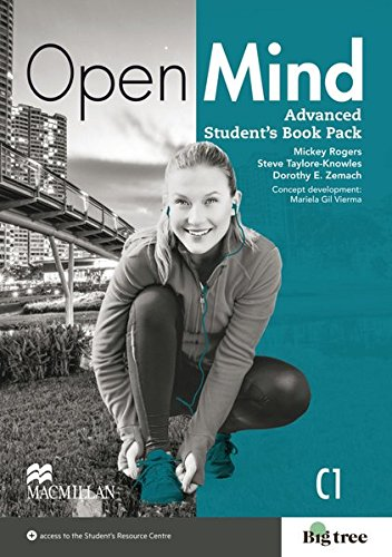 9783191529833: Open Mind Advanced. Student's Book with Webcode (incl. MP3) + Online-Workbook
