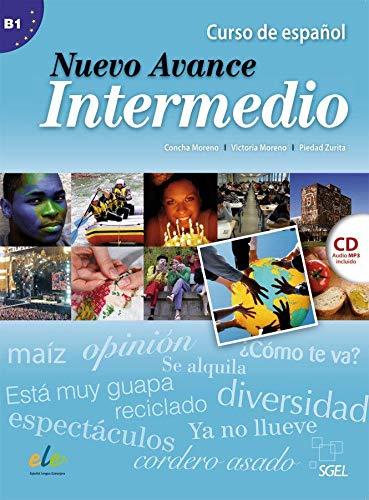 9783191545048: Nuevo Avance Intermedio. Kursbuch mit Audio-CD: Curso de Español