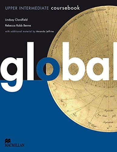 9783191629809: Global. Upper Intermediate. Student's Book with e-Workbook (DVD-ROM)
