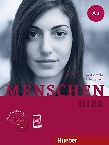 9783191719012: Menschen hier A1.  Fremdsprache. Arbeitsbuch mit 2 Audio-CDs: Deutsch als Zweitsprache