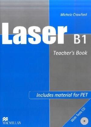 9783191729288: Laser B1. Updated for PET. Teacher's Book + Tests Audio-CD