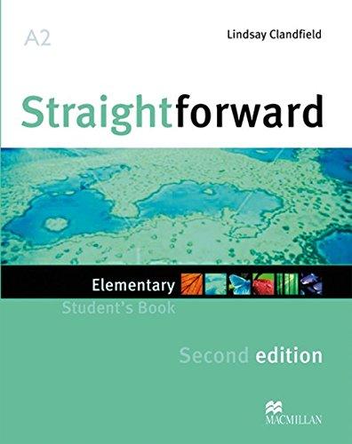 9783191729516: Straightforward. Elementary. Student's Book, Workbook, Audio-CDs and Webcod