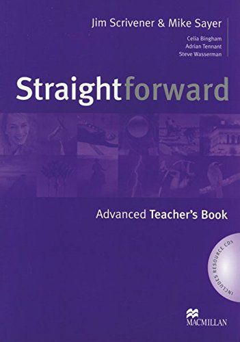 Straightforward Advanced. Teacher's Guide mit Audio-2CDs