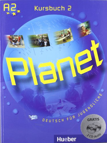9783191816797: PLANET 2 Kursbuch (alum.)+CD-Audio (2)
