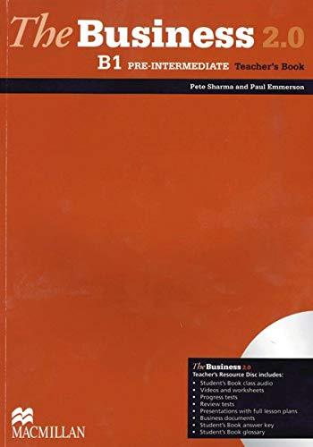 9783191829179: The Business 2.0 Pre-intermediate. Teacher's Book with DVD-ROM