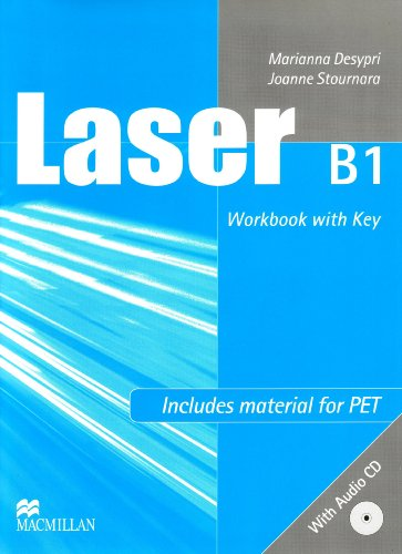 9783191829285: Laser B1. Updated for PET. Workbook with key + Audio-CD