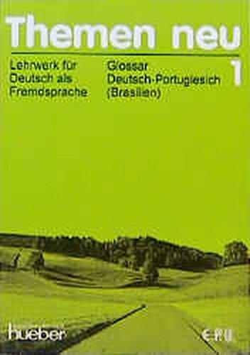 9783191915216: Themen neu, 3 Bde., Glossar Deutsch-Portugiesisch (Brasilien)