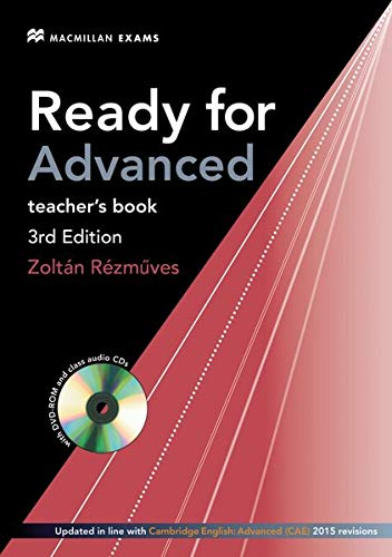 9783191929275: Ready for CAE: Ready for Advanced/Teacher's Book: 3rd edition / Teacher's Book with DVD-ROM and 2 Class Audio-CDs