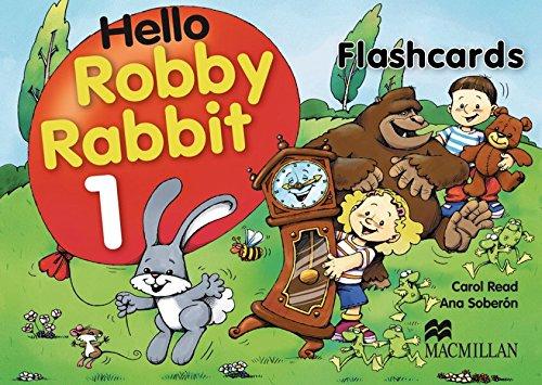 Hello Robby Rabbit. Level 1. Flash Cards: Carol Read