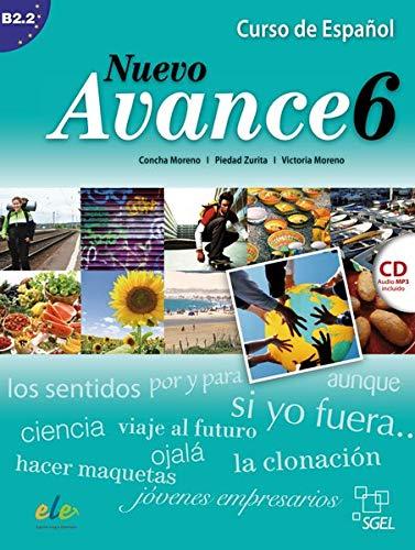 9783191945046: Nuevo Avance 06. Kursbuch mit Audio-CD