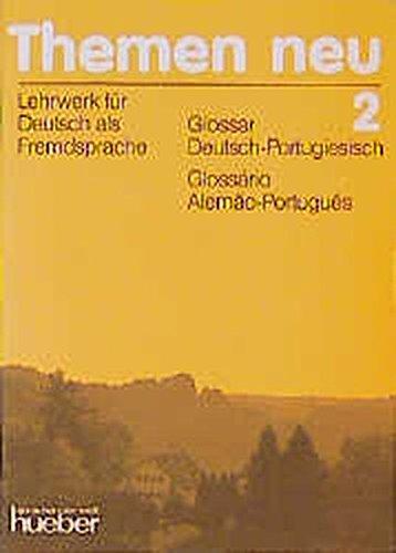 9783192015229: Themen Neu 2. Glossar Deutsch - Portugiesisch.