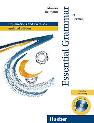 9783192015755: Reimann, Monika : Essential Grammar of German, m. CD-ROM