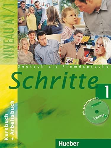 9783192017049: Schritte: Kurs- Und Arbeitsbuch 1 MIT CD Zum Arbeitsbuch