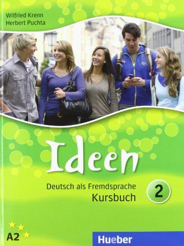 9783192018244: IDEEN.2.Kursbuch+CD ROM (c.Glos.)