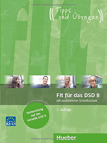 9783192018626: Fit Fur Das Dsd II: Ubungsbuch