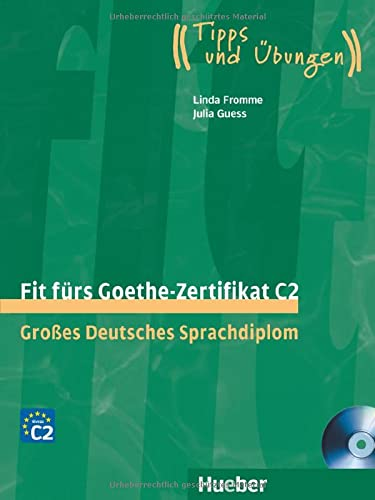 9783192018756: FIT F.GOETHE-ZERTIFIKAT C2 (Libro+CD)