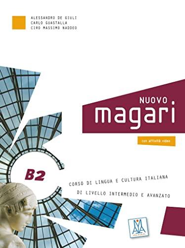 9783192054211: NUOVO magari B2. Kurs- und Arbeitsbuch + Audio-CD: Corso di lingua e cultura italiana di livello intermedio e avanzato
