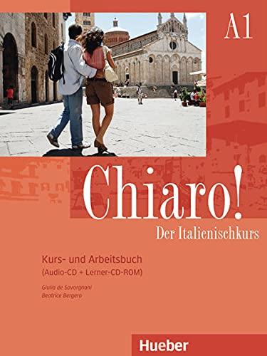 9783192054273: Chiaro! A1. Kurs- und Arbeitsbuch mit Audio-CD und Lerner-CD-ROM: Der Italienischkurs